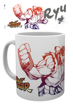 Taza Street Fighter - Ryu