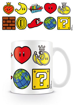 Taza  Super Mario Odyssey - Icons