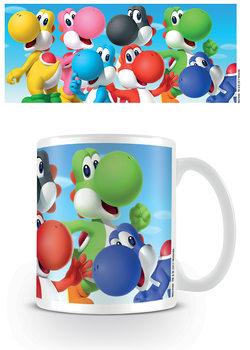 Taza  Super Mario - Yoshi
