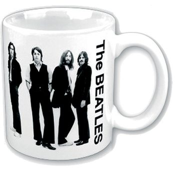 Taza  The Beatles - Black & White Group