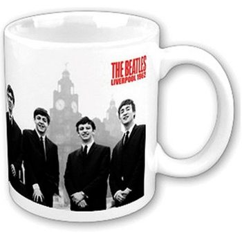 Taza  The Beatles - Liver Buildings