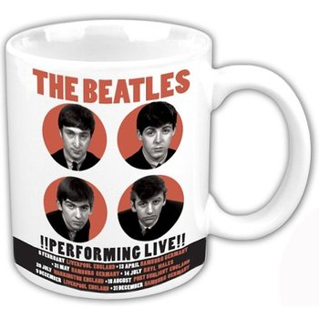 Taza  The Beatles - Performing Live