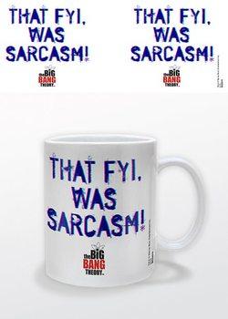Taza The Big Bang Theory - That FYI, was Sarcasm