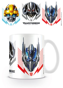 Taza Transformers: El último caballero - Helmets