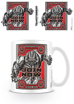 Taza  Transformers: El último caballero - Join Now
