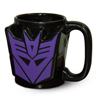 Taza  Transformers G1 - Decepticon Shield