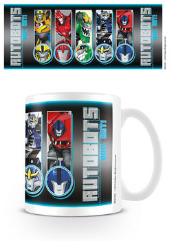 Taza Transformers Robots In Disguise - Roll Call Roll Out