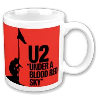 Taza  U2 - Under A Blood Red Sky