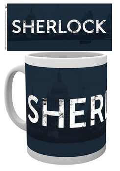 Taza Uusi Sherlock - Logo