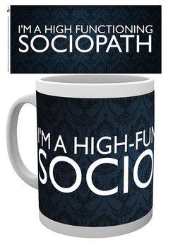 Taza Uusi Sherlock - Sociopath