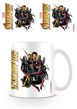 Taza  Vengadores Infinity War - Ready For Action