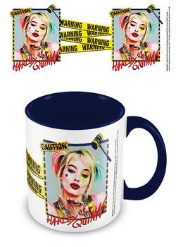 Tazze Birds Of Prey: e la fantasmagorica rinascita di Harley Quinn - Harley Quinn Warning