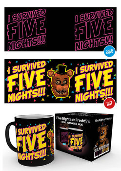 Tazze Five Nights at Freddy's - I Survived