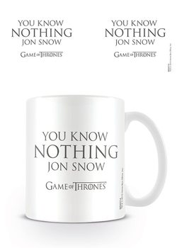 Tazze  Il Trono di Spade - You Know Nothing Jon Snow