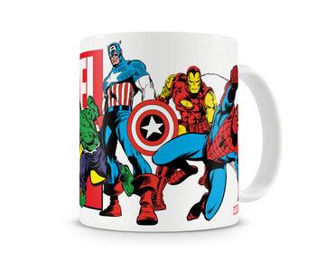 Tazza Marvel - Heroes
