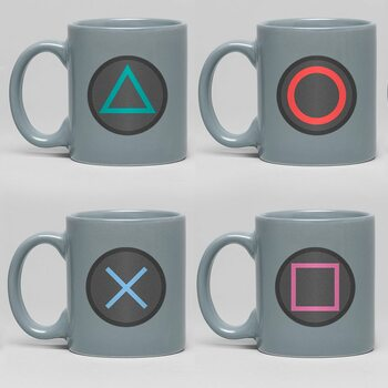 Tazza Playstation - Buttons