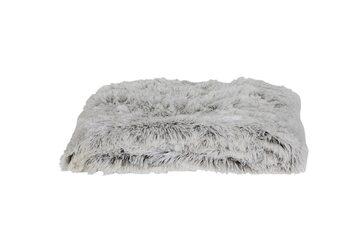 Tæppe Cosy - White-Brown Tekstil