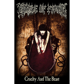 Tekstilni posteri Cradle Of Filth - Cruelty And The Beast