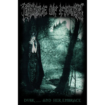 Tekstilni posteri Cradle Of Filth - Dusk And Her Embrace