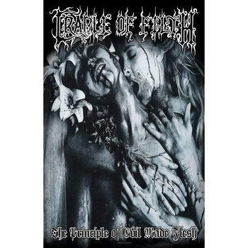Tekstilni posteri Cradle Of Filth - Principle Of Evil Made Flesh