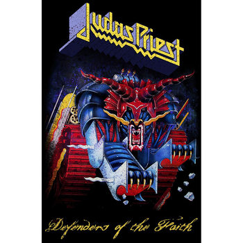 Tekstilni posteri Judas Priest - Defenders Of The Faith