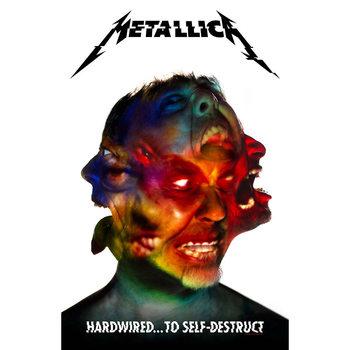 Tekstilni posteri Metallica - Hardwired To Self Destruct