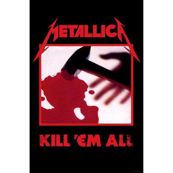 Tekstilni posteri Metallica - Kill Em All