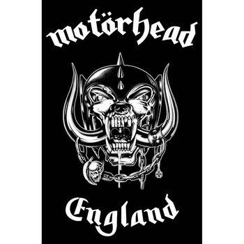 Tekstilni posteri Motorhead - England