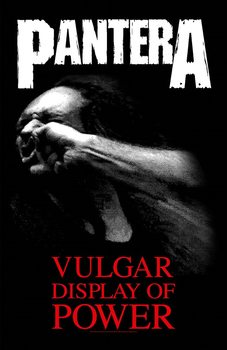 Tekstilni posteri Pantera - Vulgar Display Of Power
