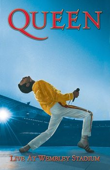 Tekstilni posteri Queen - Wembley