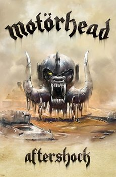 Tekstilni poster Motorhead – Aftershock