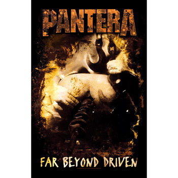 Tekstilni poster Pantera - Far Beyond Driven