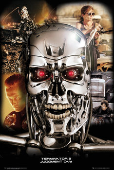 Terminator 2 - Collage - плакат (poster)