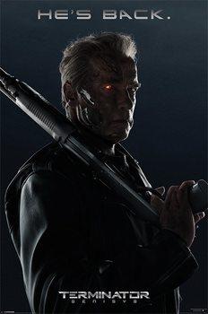 Terminator Genisys - He's Back - плакат (poster)