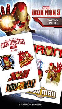 Tetování Iron Man 3 - Characters