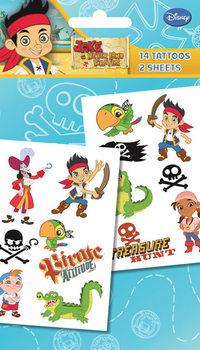 Tetování JAKE & NEVERLAND PIRATES - characters