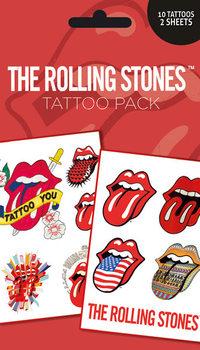 Tetování ROLLING STONES - lips