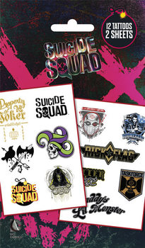 Tetování Sebevražedný oddíl - Mix