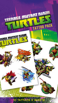 Tetování TEENAGE MUTANT NINJA TURTLES - shellheads