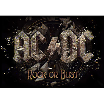 Textiel poster AC/DC – Rock Or Bust