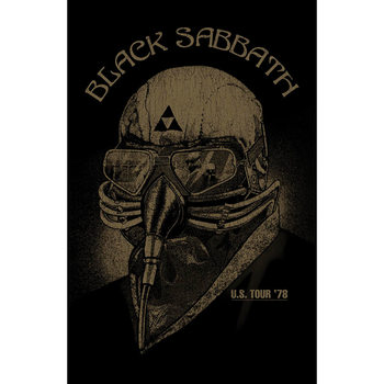 Textiel poster Black Sabbath - Us Tour '78