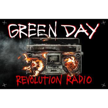 Textiel poster Green Day - Revolution Radio
