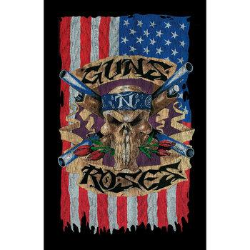 Textiel poster Guns N Roses - Flag