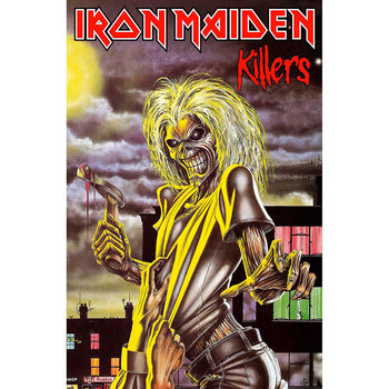 Textiel poster Iron Maiden - Killers