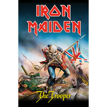 Textiel poster Iron Maiden - The Trooper