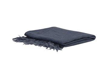 Deka/pléd Medi - Grey-Blue Textil