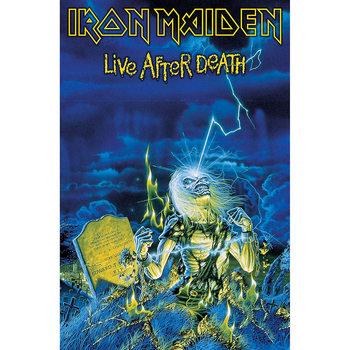 Textil poster  Iron Maiden - Live After Death