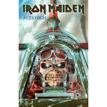 Textil Poszterek Iron Maiden - Aces High