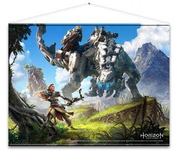 Textilný plagát  Horizon Zero - Cover Art