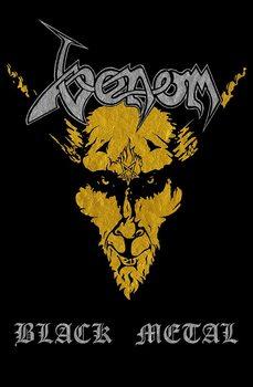 Textilný plagát Venom - Black Metal